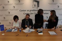 Potpisivanje ugovora sa OCD ciji su projekti podrzani na drugom konkursu